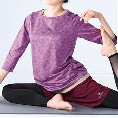 フェイクレイヤードTシャツ(BODY GLOVE)(UVカット)