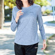 クルーネック長袖Tシャツ(Kaepa)(吸汗速乾・UVカット)