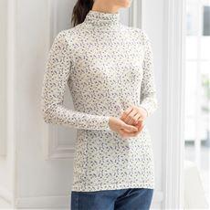 スマートヒートルーズネックTシャツ(S~5L・静電気防止・吸湿発熱・吸汗速乾・選べる2丈)