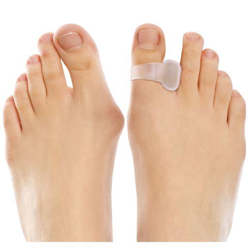 やわらゲル外反母趾足指ゲルサック(4個) - セシール(cecile)