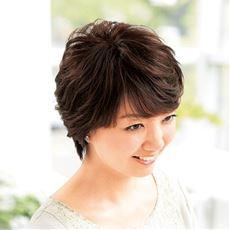 人毛100%総手植え地肌付きヘアピース<美活計画>