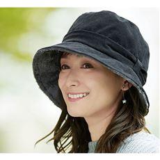 ボアコーデュロイ帽子