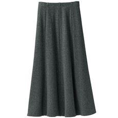 <めちゃぬく>8枚はぎのドレープスカート