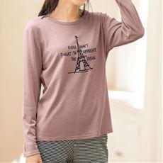 プリントTシャツ(綿混・洗濯機OK)