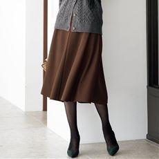 カットソーフレアスカート(選べる2レングス・洗濯機OK)