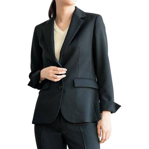 スーツ用テーラードジャケット(事務服・洗濯機OK)