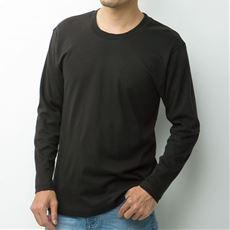 綿100%長袖Tシャツ