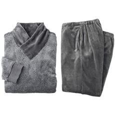 あったかふわもこハイネックパジャマ(男女兼用)