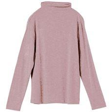 テンセル™繊維混ボトルネックTシャツ(日本製)
