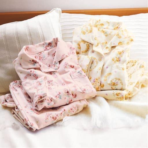 お洗濯に強い!綿毛布プリントシャツパジャマ