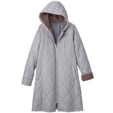 【ぽっちゃりさんサイズ】中綿キルティングコート