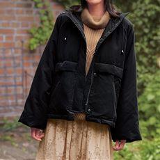 【ぽっちゃりさんサイズ】着込めるジャケット