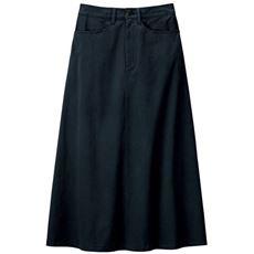 【ぽっちゃりさんサイズ】Aラインチノスカート