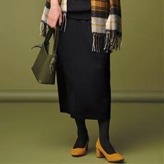 【ぽっちゃりさんサイズ】カットソータイトスカート