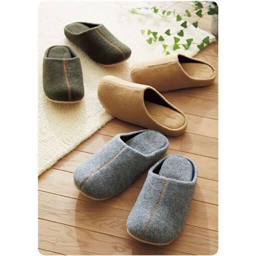 靴メーカーが作ったフェルトルームシューズ