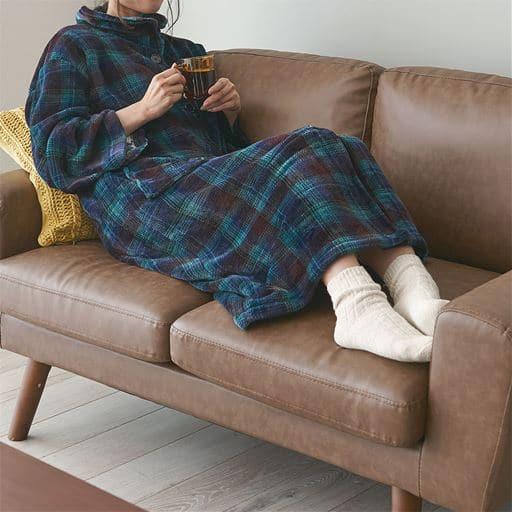 電気発熱着る毛布
