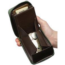 日本製豊岡工房 ラウンドファスナーコンパクト財布
