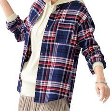 ビエラレギュラーシャツ(綿100%・洗濯機OK)
