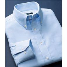 形態安定ボタンダウンYシャツ(長袖)