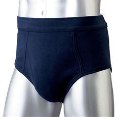 同色3枚組 綿100%ブリーフ/ウエストが平ゴムじゃない柔らか仕様(前開き)