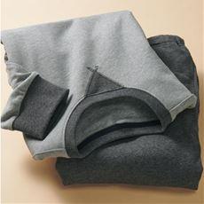 綿100%裏毛スウェットパジャマ(男女兼用)