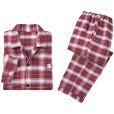 ダブルガーゼシャツパジャマ(男女兼用)