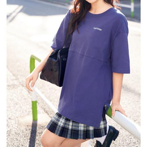 切替えビッグTシャツ(コンバース)