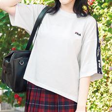 ロゴテープTシャツ(FILA)