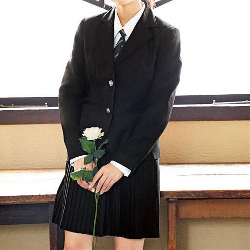 細プリーツスカートスーツ4点セット(スクール・制服)