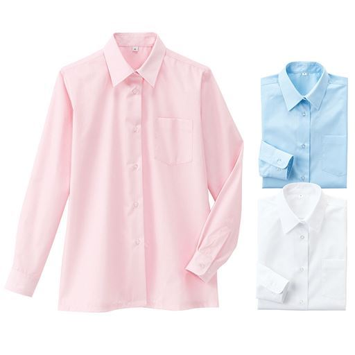 形態安定 長袖シャツ(スクール・制服)(ガールズ)