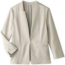変形衿ジャケット