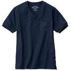 大人のためのドレスTシャツ 上品シルケット加工+ストレッチ