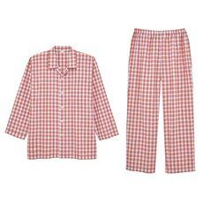 綿100%サッカーシャツパジャマ(男女兼用)