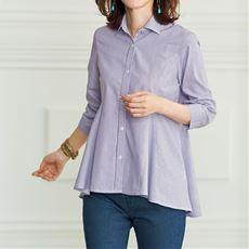 UVケアフレアシャツ(7分袖)