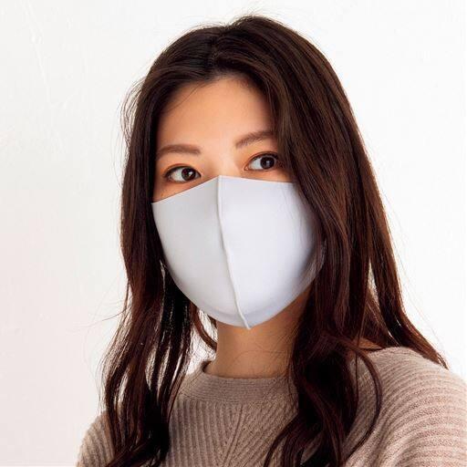 【大きめサイズ】洗える3Dマスク(Lサイズ)(抗菌防臭・UVカット・吸水速乾・接触冷感)(3枚組)【パステルマスク】
