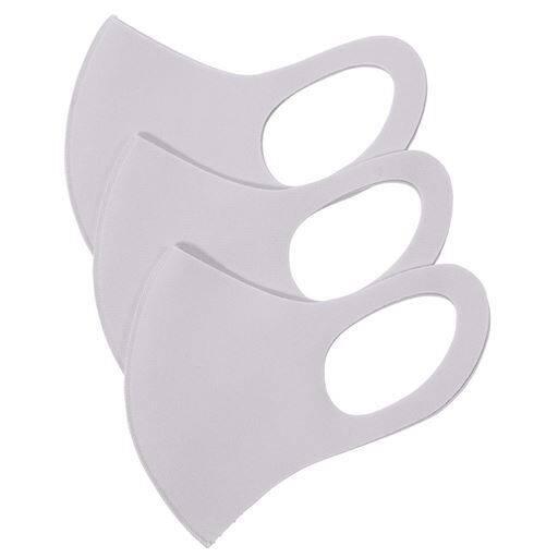 ひんやりタッチ3Dマスク(抗菌防臭・UVカット・吸水速乾・接触冷感)(3枚組)【パステルマスクCOOL】