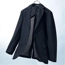 洗えるからみ織りジャケット クールビズにも対応 メンズビジネス