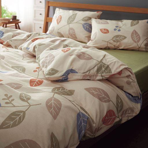 枕カバー(綿100%ネルシャツ素材)