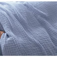 掛け布団カバー(綿100%水洗い3重ガーゼ)/乾燥機OK
