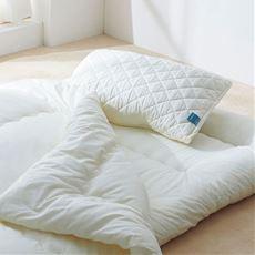 枕パッド(フルテクト加工)/抗ウィルス加工素材(側生地)