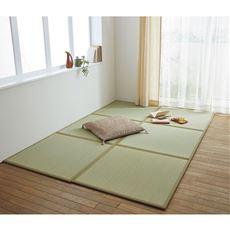 パタパタ置き畳(三つ折り)/軽量・省スペース収納