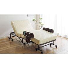 折りたたみ式電動ベッド