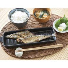 お魚とうばん(2枚組)/陶器プレート皿 魚焼きグリルの汚れを防ぐ