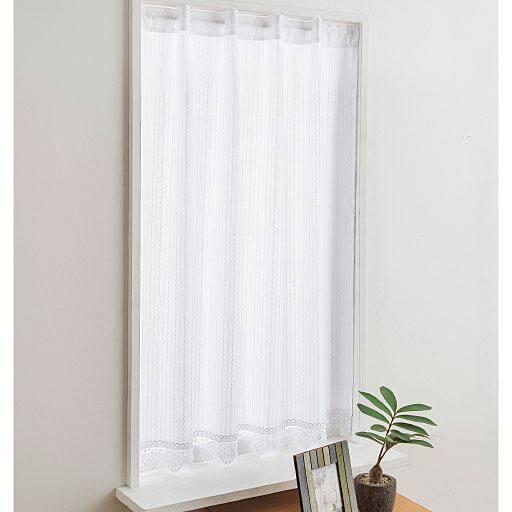 カフェカーテン(プライバシー保護に優れた遮熱・UVプロテクトカットタイプ)