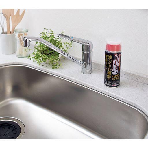 泡のジェット噴流で排水管キレイ/約15回使用可能 排水管洗浄剤