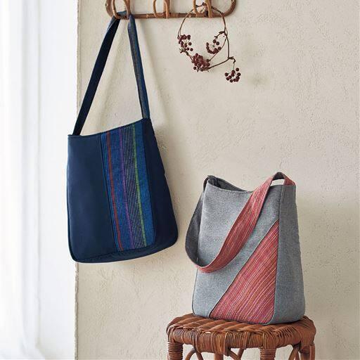 久留米織り 和ショルダーバッグ
