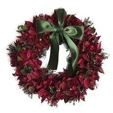 クリスマスフラワーリース