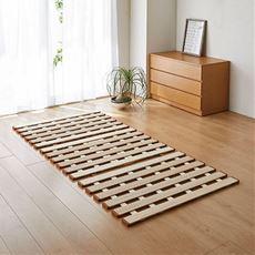 薄型軽量桐すのこベッド(三つ折れ式)