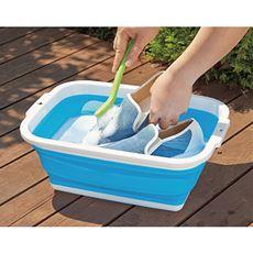 薄くたためる洗い桶(8.5リットル)