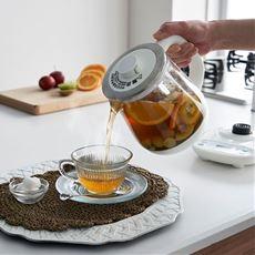 クックケトル(お茶わかし&調理OK)/温度調整可・ガラス製